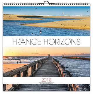 calendrier France panoramique 2018